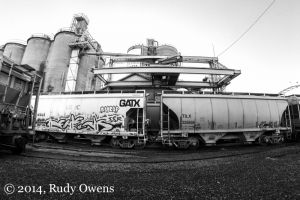 Glacier Northwest Cement Kiln Rail Cars, Portland