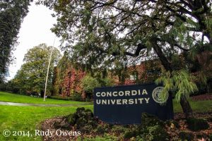 Concordia University Fall Colors
