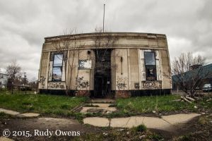 Abandoned Building, Jefferson Avenue