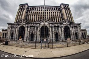 The MIchigan Central Station, Detroit