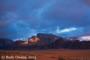 Sunrise on Wadi Rum