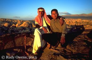 Bedouin Guides from Wadi Musa