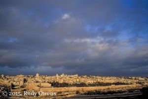 Jerusalem, Winter's Morning Light