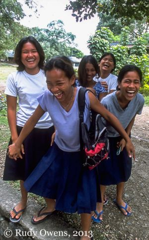 Teen Residents At Cebu's Leprosy Mission