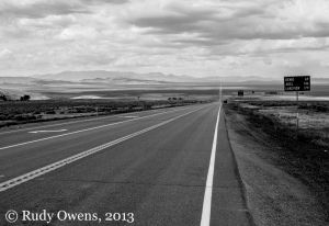 Desert Highway in the Great Basin