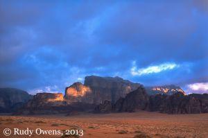Wadi Rum Sunrise, Jordan (2004)