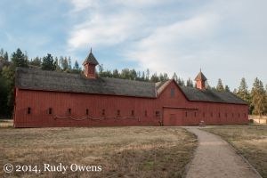 Fort Spokane, Old Stables, August 2014