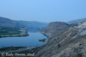 Columbia River Near Chelan, August 2012